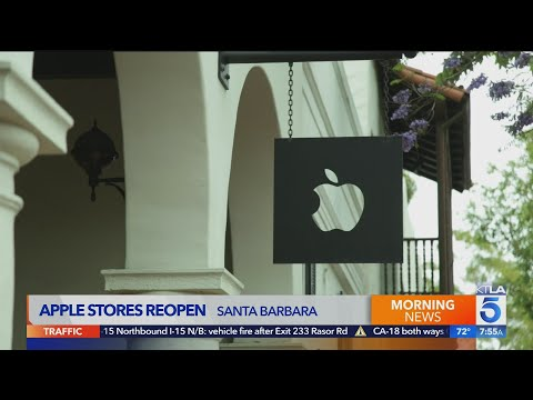 Apple Stores Reopen