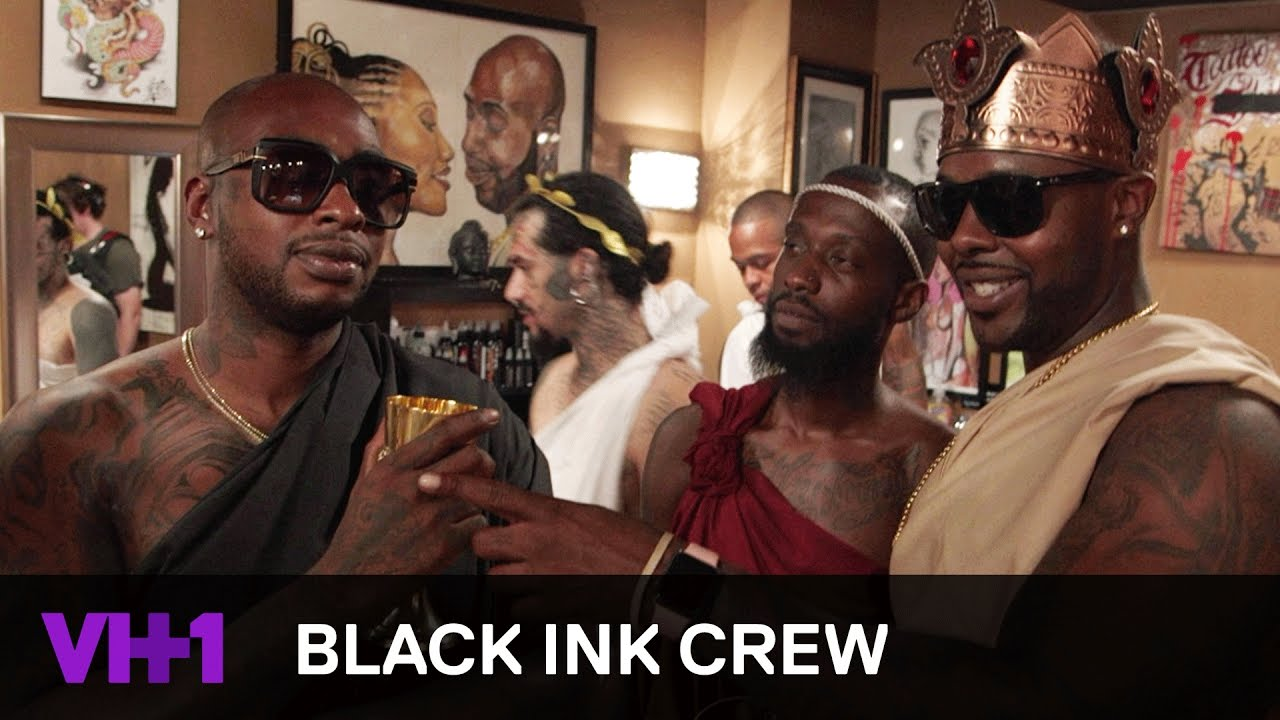 black ink crew watch the first 5 minutes of the season 5 premiere