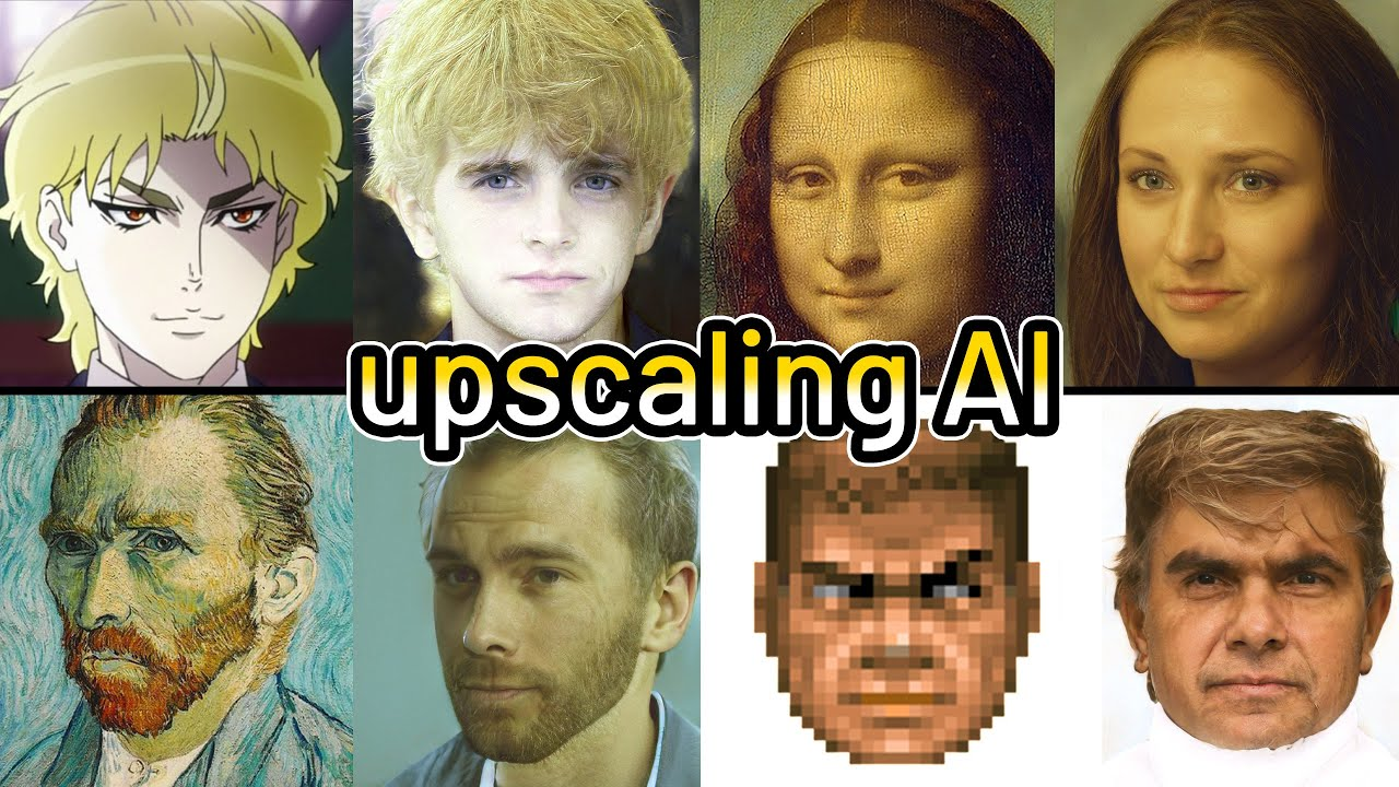 Mona Lisa In Real Life Depixelizing Doom Guy The Upscaling Ai