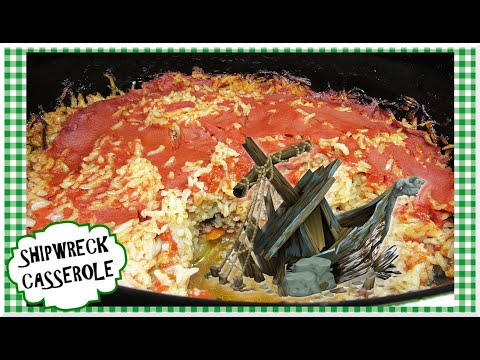 Slow Cooker SHIPWRECK CASSEROLE ~ Ground Beef Crockpot Recipe