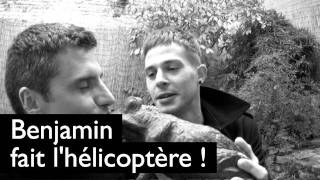 Benjamin Ramon fait l'hélicoptère