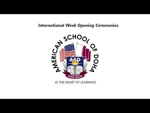 International Week Opening Ceremonies