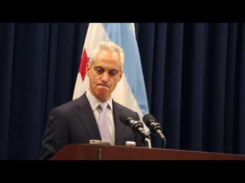 Mayor Rahm Emanuel denounces anti-Semitism during a Chicago City Council meeting