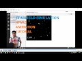 Starfield Simulation: HTML5 Canvas Javas