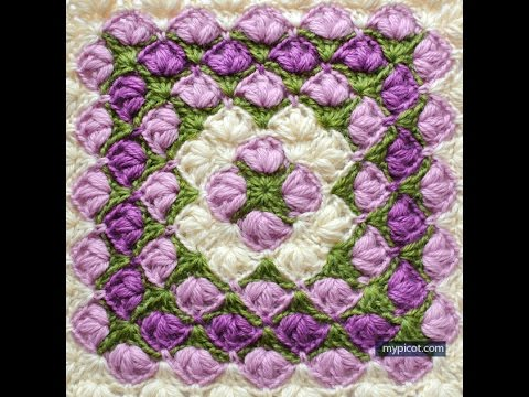 Youtube Crochet Patterns : Crochet Patterns for free Crochet Baby Blanket 599 - YouTube