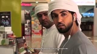 omar albloushi in a short movie THE EGOIST