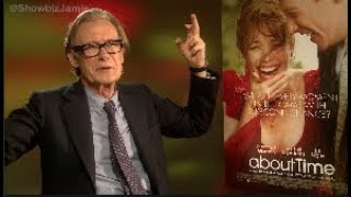 Bill Nighy's interesting interview request: DON'T bring me ice-cream or M&Ms!