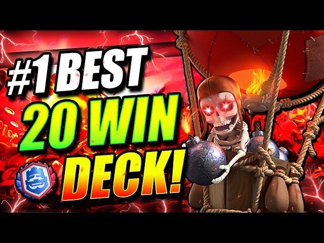 #1 BEST CRL 20 WIN DECK!! INSANE NEW META BALLOON DECK DOMINATES!