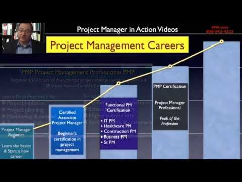 Steps in a Project Manager Career