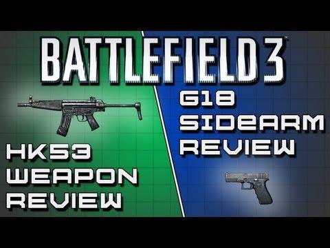 Battlefield 3 Weapon Review : G53 & G18