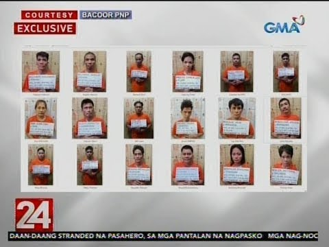 24 Oras: 38 Drug Suspect Na Arestado Sa Anti-illegal Drug Ops, Nagpasko Sa Kulungan