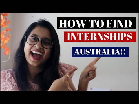 Finding An Internship In Australia For International Students