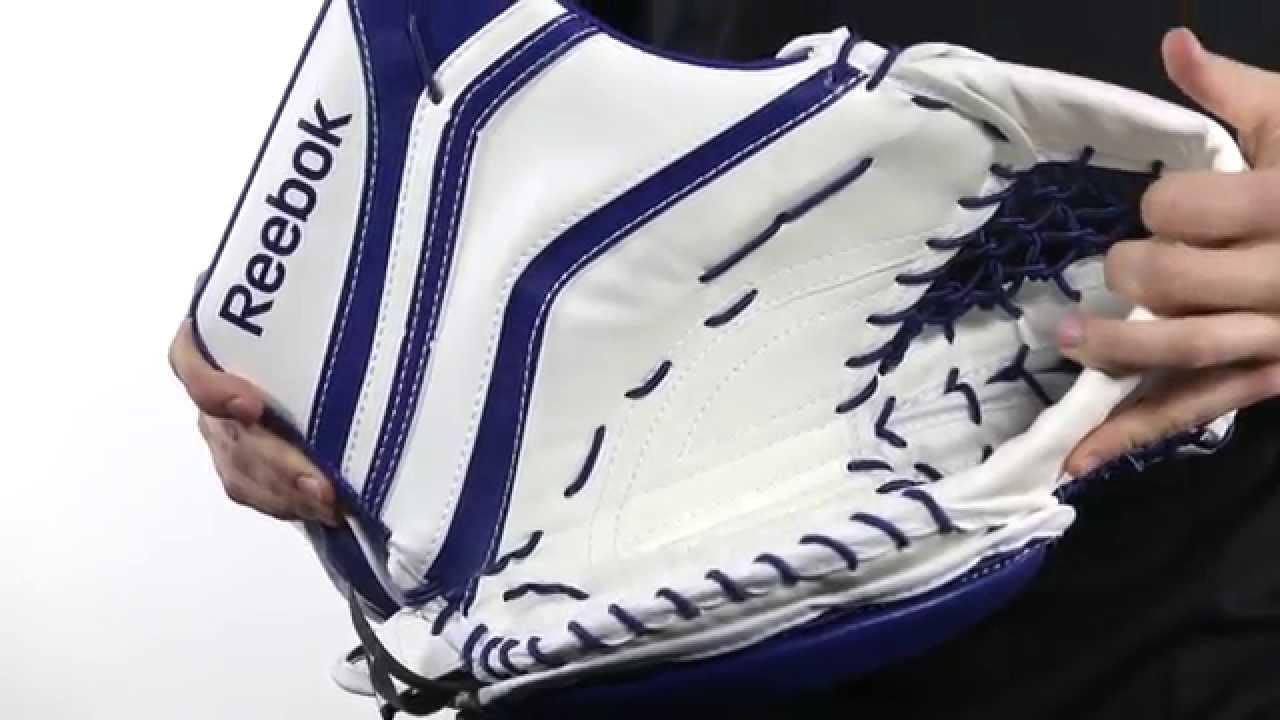 Ligadura vacío maletero  Reebok X28 Trapper (catch glove) Review - YouTube