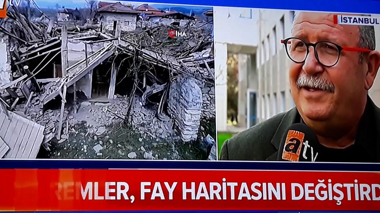 Türkiye deprem risk haritası yenilendi 2019 Istanbul Denizli Acıpayam Rize Çanakkale Antalya