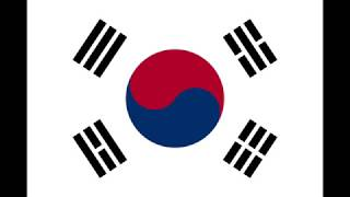 Ten Hours of the National Anthem of South Korea
