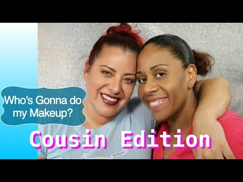 COUSIN DOES MY MAKEUP | Jessie Melendez