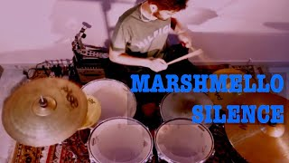 Marshmello ft. Khalid - Silence - Drum Cover