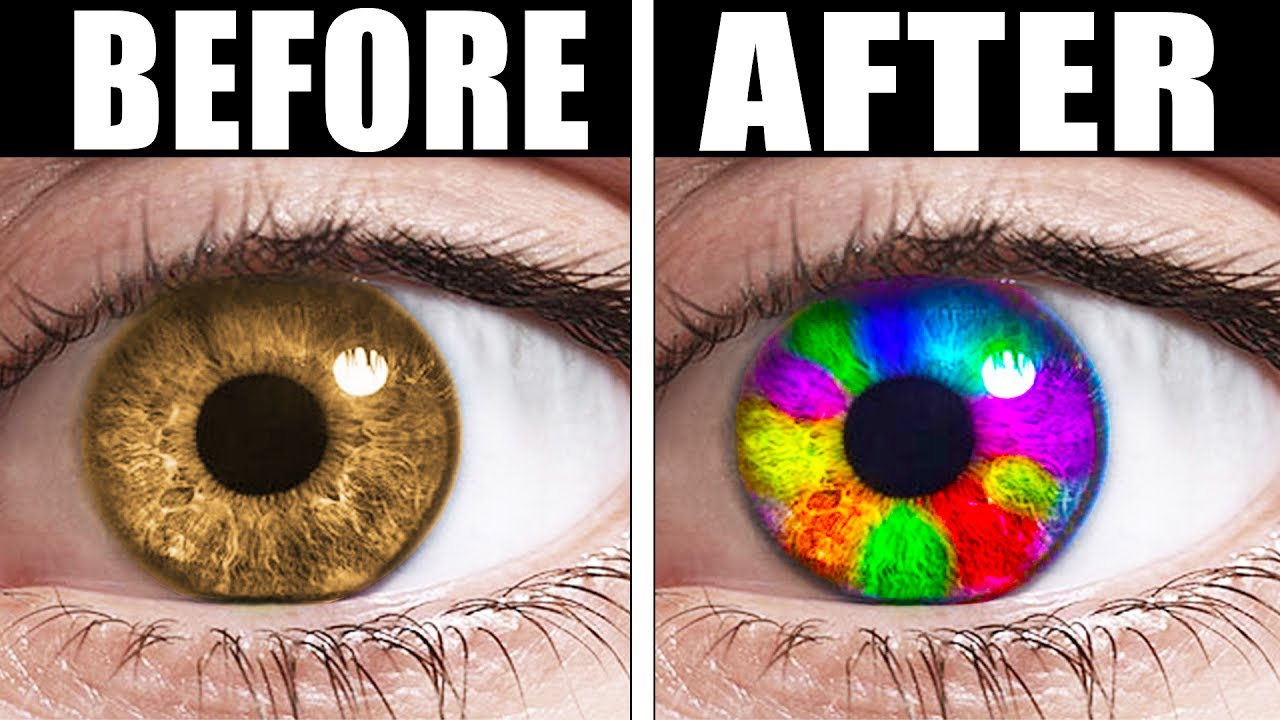 How To Make Your Eye Color Lighter Naturally