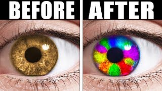 TRICK TO CHANGE YOUR EYE COLOR (IT ACTUALLY WORKS)