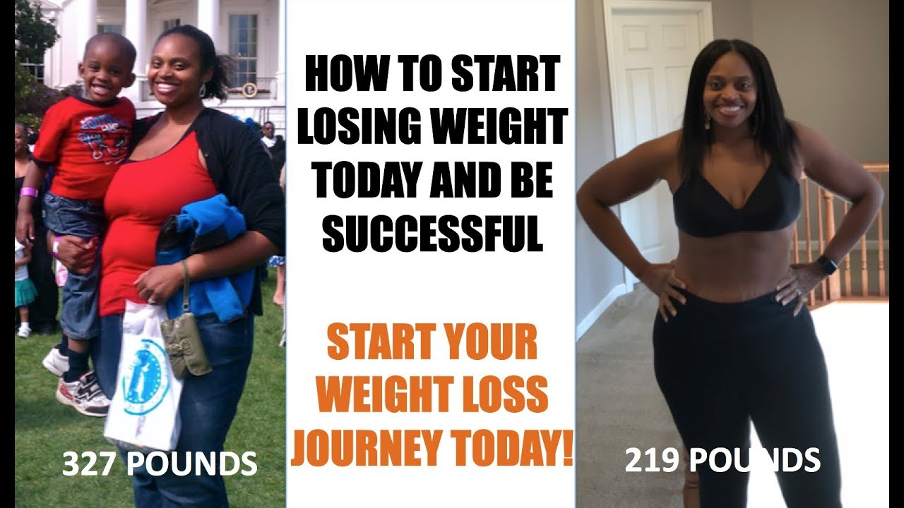 how to start weight loss journey