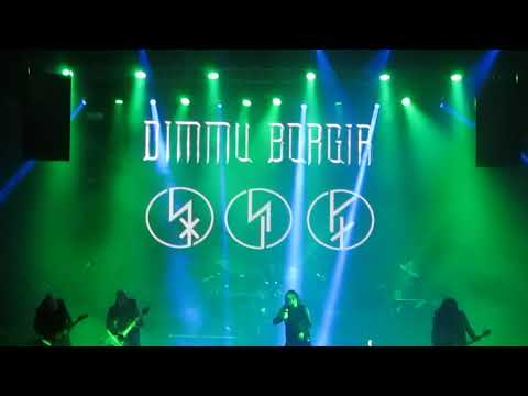 Dimmu Borgir, Mourning Palace at Royal Center, Bogotá, Colom