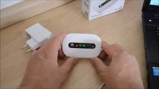 Huawei E5220 mobiler Wifi WLAN-Router - die erste Inbetriebnahme