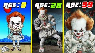 SURVIVING 99 YEARS AS PENNWISE IN GTA 5....