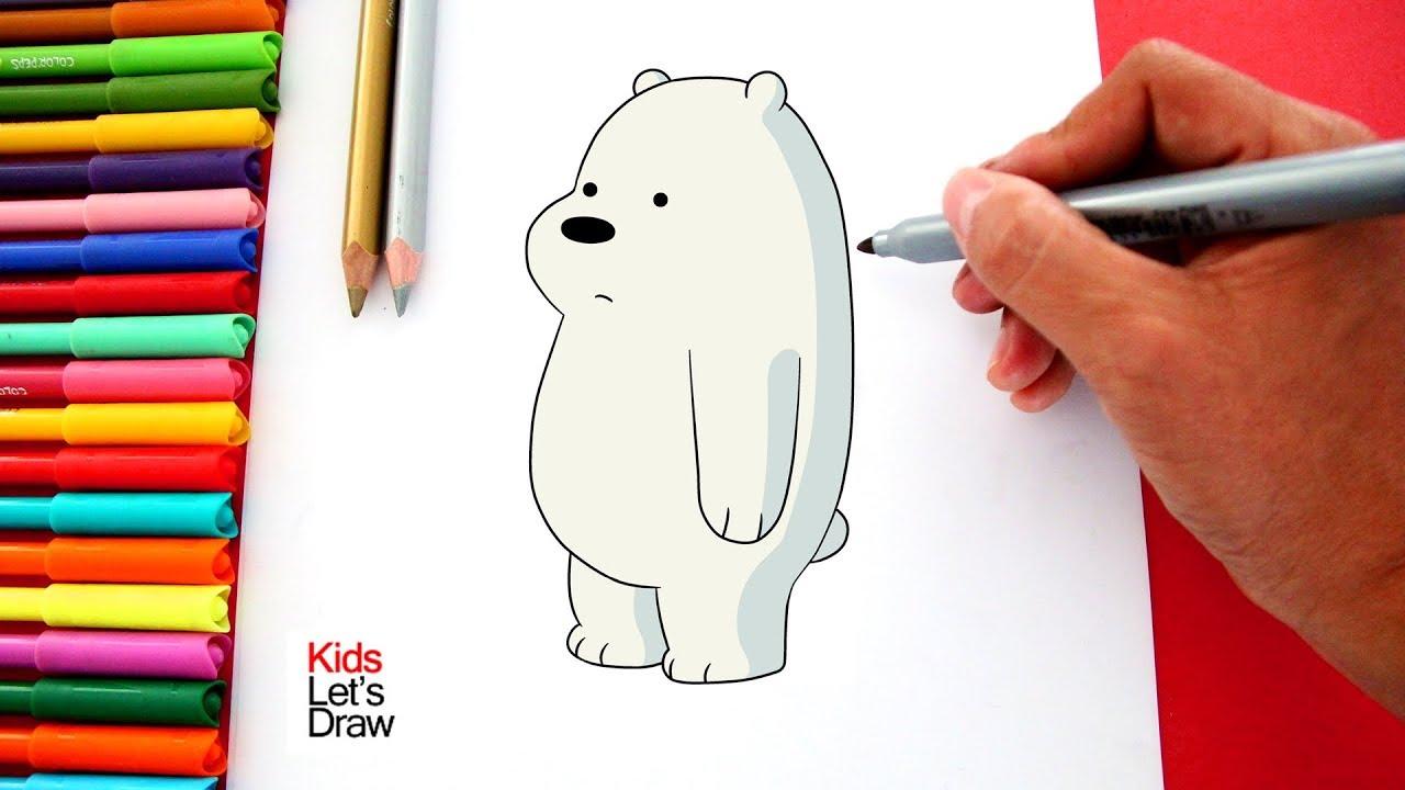 Como Dibujar Y Colorear A Polar De Osos Escandalosos