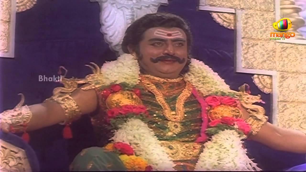 Sri Devi Mookambika Movie Scenes - Kaumasura crowned as ...