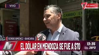 El dólar en Mendoza se fue a $70