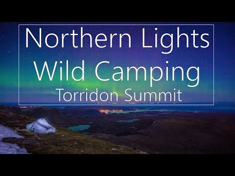 Beinn Alligin Wild Camp Under the Dancing Northern Lights