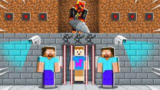 Saving FGTeeV from Herobrine's Underground Prison! - Minecraft