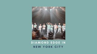 Diamond Edge in NYC (Fancams, Hi-Touch Experience, and Eye Contact with the Boys!)