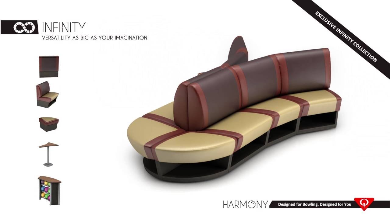 QubicaAMF Bowling Equipment, Harmony Furniture   Infinity Collection