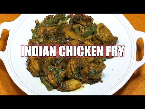 Easy Chicken Fry - Indian Fried Chicken - Spicy Fried Chicken - Chicken Fry - Chicken Curry Dry