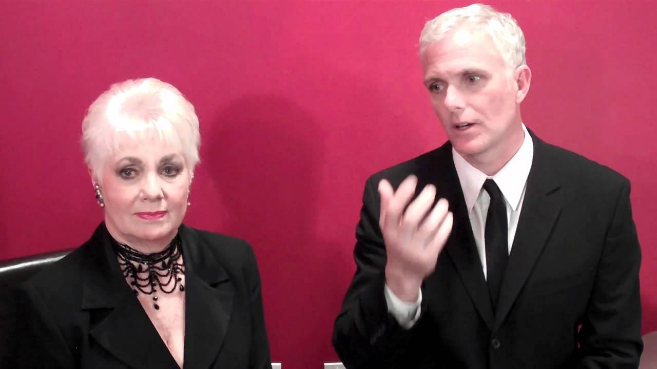 21st Ovation Awards - Backstage - Shirley Jones and ...
