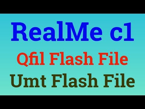 Realme c1|RMX1811|flashing|flash file|qfil flash file|realme c1 qfil