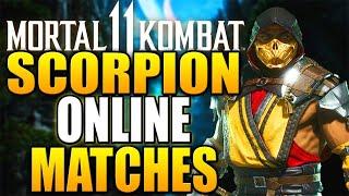 MORTAL KOMBAT 11 - Online Matches with Scorpion! - Daryus P