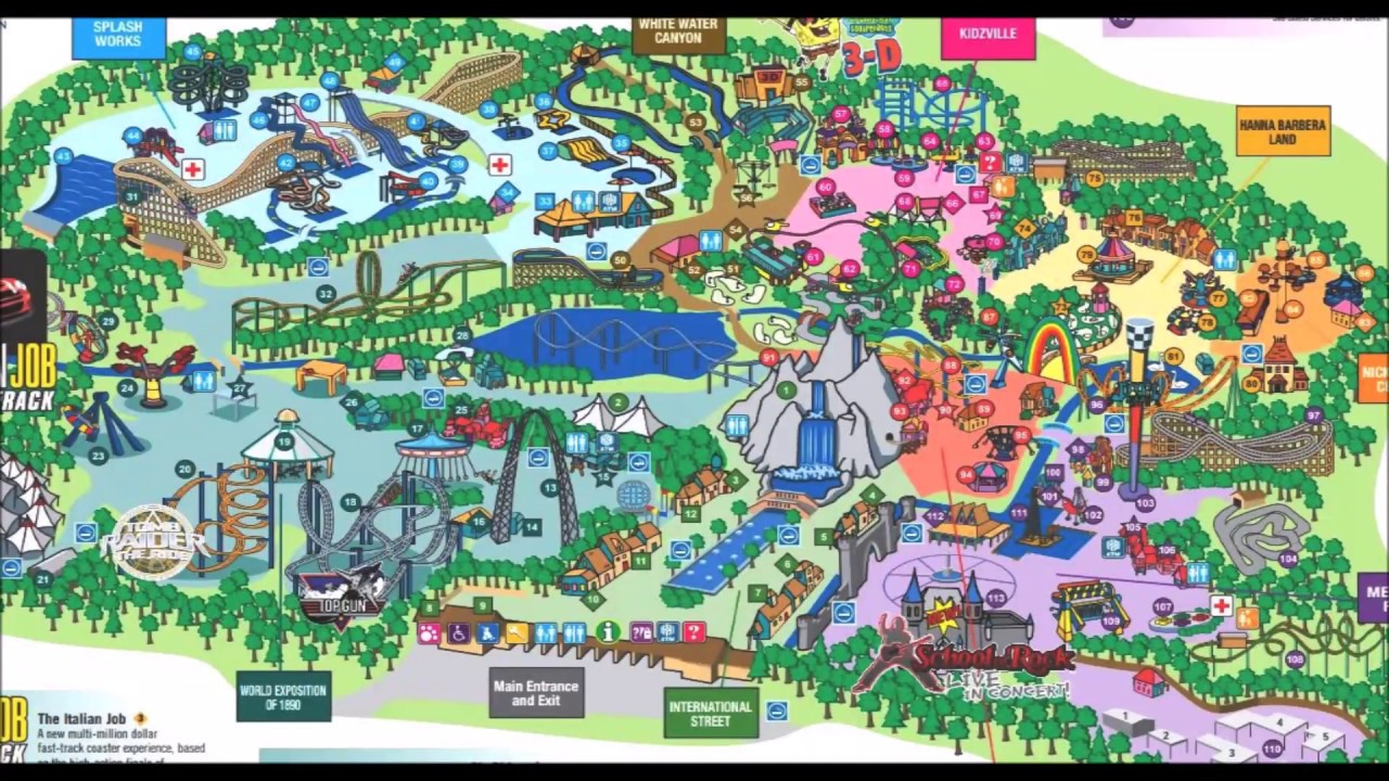 Canada S Wonderland Maps Over The Years 1 History See Video 2 Its Updated