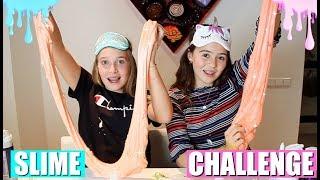 BLINDFOLDED SLIME CHALLENGE! | GEBLINDDOEKT SLIJM MAKEN!