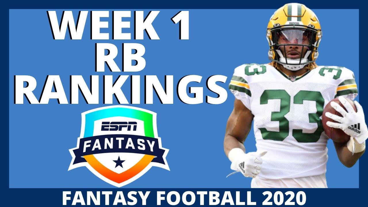 2020 Fantasy Football Rankings Top 32 Running Back Rankings Week 1 Youtube