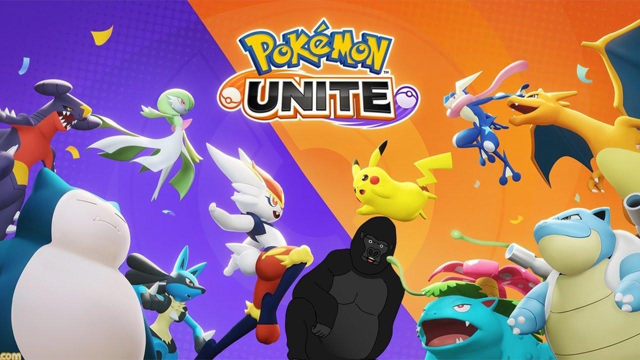 【Pokémon UNITE】初心者なので全て教えてください。【バーチャルゴリラ】