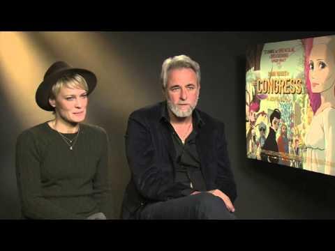 Ari Folman & Robin Wright talk THE CONGRESS