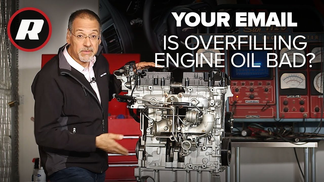 Your Email: How to fix too much oil in your engine