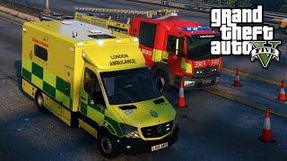 LONDON AMBULANCE RP | GTA 5 PC EMS MOD