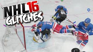 NHL 16 Funny Glitches, Hits & Moments! #1  (EASHL)