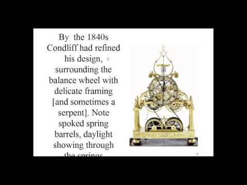 A review of English skeleton clocks, with an emphasis on architectural models