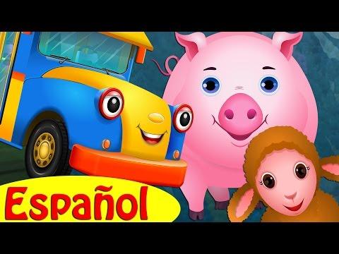 Las Ruedas del Autobús   Animales de la Granja   Colección de Canciones Populares por ChuChu TV