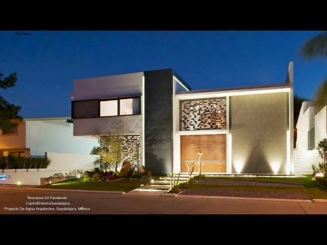 arquitectura Residencia en Valle Real 45 Millones Moderna