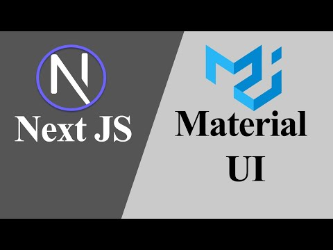 How to Setup Next JS Project with Material UI (Hindi)